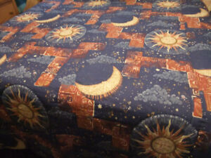 Hand Quilted Blanket with Matching Pillow