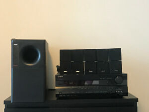 Bose HT with Onkyo TX-SR505E HDMI Receiver & FIVE Bose SPEAKERS