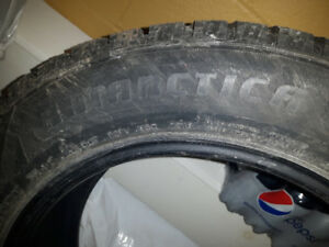 Winter studed tires