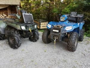 FS/TRADE: 2015 Polaris Sportsman ETX & 2003 Kawasaki 650 vtwin
