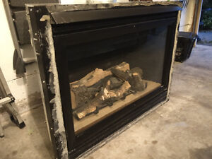 BIG  Heat-N-Glo Natural gas Fireplace