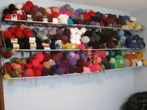 Estate  Sale: YARN & Crochet Items Plus More