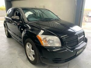 2007 Dodge Caliber PM SX Black 6 Speed Constant Variable Hatchback Boolaroo Lake Macquarie Area Preview