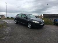 2009 09 Renault Megane Dynamique 1.5 dCi 106 (£30 per year road tax)