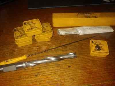 Kennametal .551 14mm Dia. Se Modular Drill Body Ksem140r7wn16m W 7 Inserts