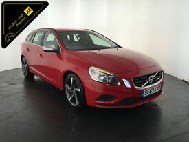 2013 63 VOLVO V60 R-DESIGN D3 DIESEL ESTATE 1 OWNER SERVICE HISTORY FINANCE PX