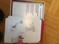 Muscle flash cards for registered massage therapist course
