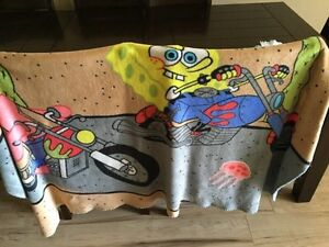Sponge Bob Throw Blanket