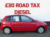 £30 per year ROAD TAX DIESEL 2008 FORD FIESTA 1.4 STYLE TDCi