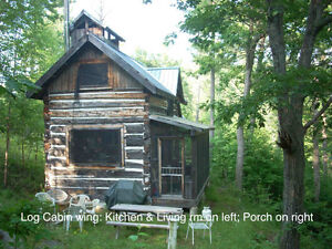 Rustic Cottage in Woods near Ottawa: Charity