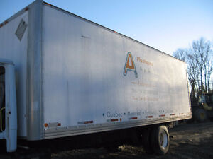 26′ cargo box for storage (not insulated)
