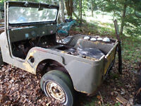 1966 CJ-5 jeep for parts