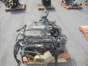 MOTEUR JDM 89-95 TOYOTA 4RUNNER PICK UP T100 3.0L V6 MT 4X4 3VZ