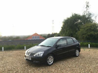 2005 Honda Civic 1.6i VTEC Executive 5 Door Hatchback Black