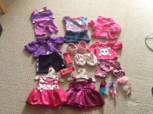 Girl build-a-bear doll clothes