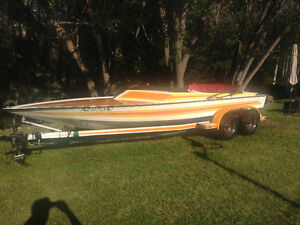 Tahiti 22' jet boat project, needs engine 455