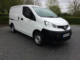 2013 (63) Nissan NV200 Van 1.5dCi ( 89bhp ) ( Euro 5 ) SE 1 owner Low Miles FSH