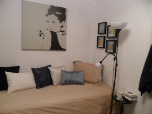 A furnished room for rent- female only