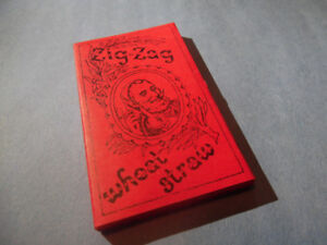 Rare Vintage 1960's Era Wheat Straw Zig-Zag Rolling Papers