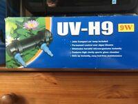 Fish Tank inline UV Filter
