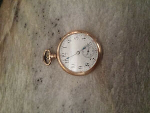 Elgin gold filled cashier watch