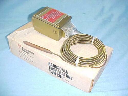 NOS Delaval Barksdale Gold Line Temperature Switch MT1H-H602-12-A 0 - 650° F