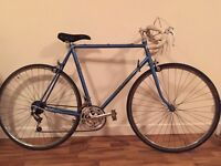 Vintage 1980s Claude Butler large 60cm Frame In Good Condition rides well