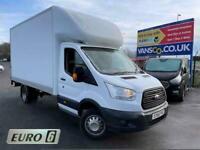 2017 Ford Transit 2.2 TDCi 350 Chassis Cab 2dr Diesel Manual RWD L4 H1 EU5 (DRW)