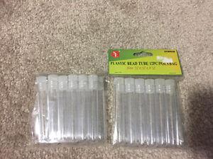 Plastic bead tubes Kitchener / Waterloo Kitchener Area image 1