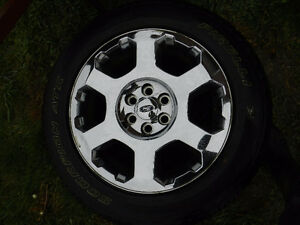 4 275/55R20 factory rims and tires