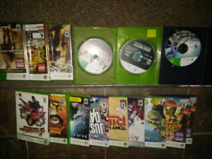Xbox 360 Games *over 50% off asking price if you take all*