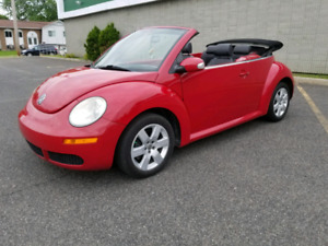 2007 VOLKS NEW BEETLE CONVERTIBLE AUTOMATIQUE