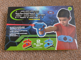 Laser pursuit tag game NEW