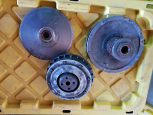2007 Yamaha Grizzly 700 clutches