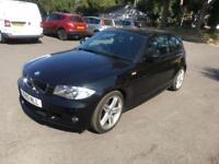 2010 10 BMW 1 SERIES 2.0 120D M SPORT 3D AUTO 175 BHP DIESEL