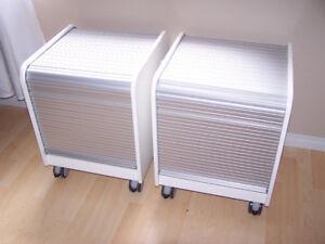 Ikea Printer Cabinets: $40 each.