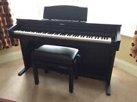 Roland HP2e Digital Piano and Stool