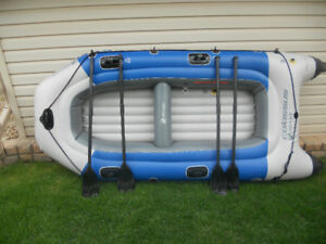 4 person Inflatable boat for sale