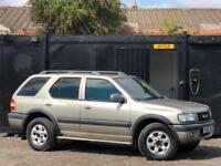 * VAUXHALL FRONTERA 2.2 DTI LIMITED EDITION + DIESEL AUTOMATIC + LOW 83K MILES *