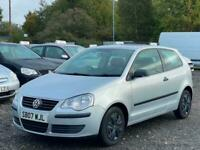 * 2007 VW VOLKSWAGEN POLO 1.2L 3 DOOR + 79K MILES + IDEAL FIRST CAR + HPI CLEAR