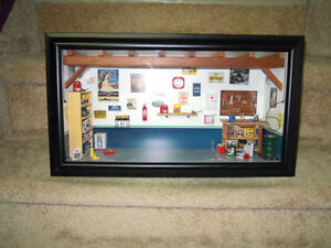1/18 scale Garage Diorama Stratford Kitchener Area image 3