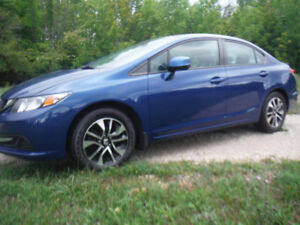 2013 Honda Civic EX-Mint Condition- Certified-REDUCED !