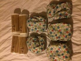 Reusable TotBots All in one nappies