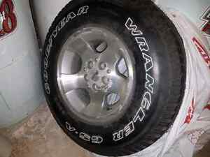 Wrangler spare tire ×1