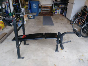 Weider Training System 146 with small Dumbells  $40.00