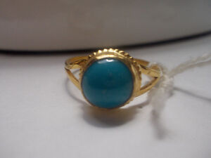 Gold Ring with Turquoise Windsor Region Ontario image 2