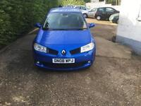 Renault Megane 2.0dCi diesel 175 Renault-sport 3 door hatch FSH 87.000 miles