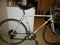 vintage peouget road bike,in very good shape