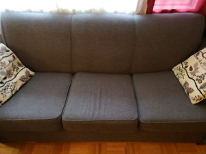 Living room set, sofa, loveseat, and chair