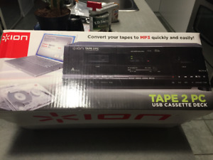 tape cassettes double usb 70.00